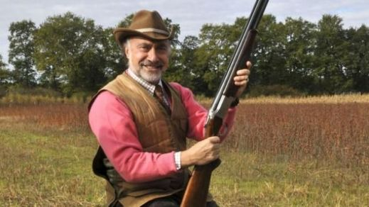 Olivier Dassault while Hunting