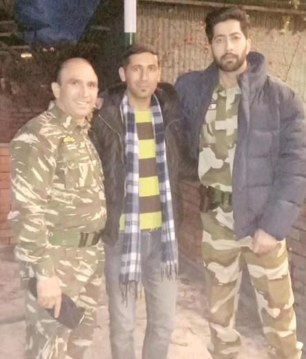 Bikramjeet Kanwarpal in the army uniform