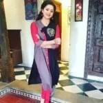 Raksha Holla in casual dress