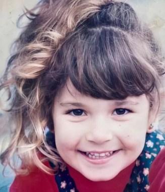 Julia Gama in childhood