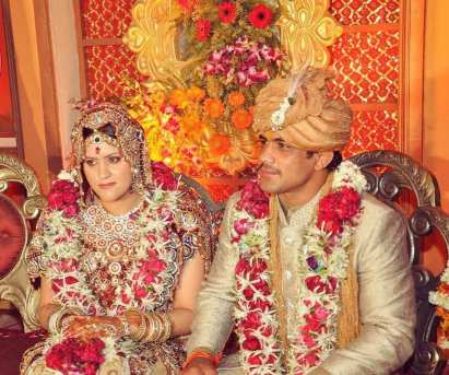 Savi Kumar's marriage photo