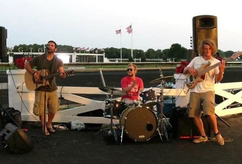 Kevin Clark performs at Arlington Park 4th of July fireworks