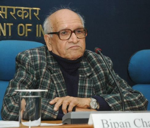 The Chairman of National Book Trust, Bipan Chandra in 2008