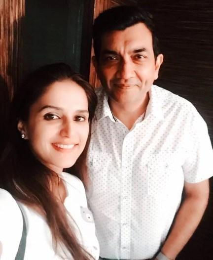 Shipra Khanna with Chef Sanjeev Kapoor