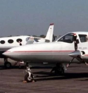 A Cessna C501 plane