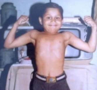 Deepesh Sumitra Jagdish in childhood