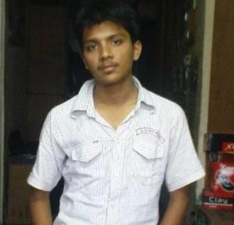 Shubham Gupta in his school days