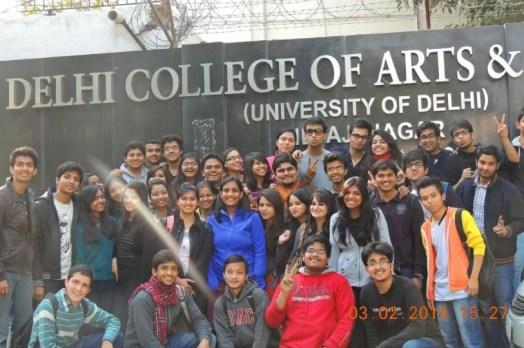 Shubham Gupta in his college days