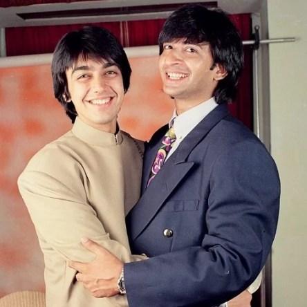 Raj Kaushal with Ashish Chaudhary