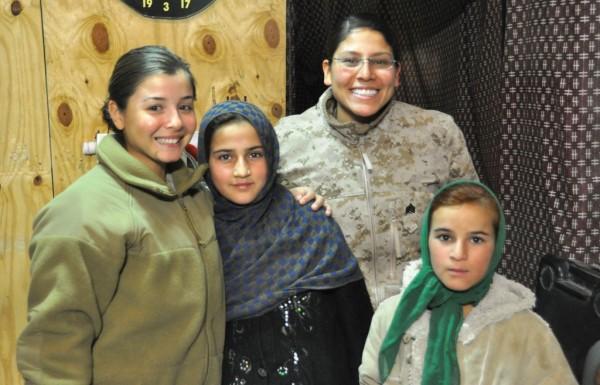 Sgt Barbra Rangel, Zarmina and