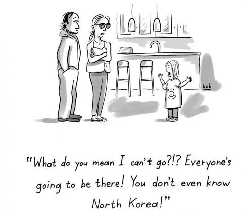 eckstein north korea cartoon