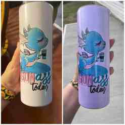 uv color changing tumbler