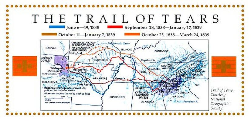 Forest Service claims Trail of Tears destruction to dissuade off
