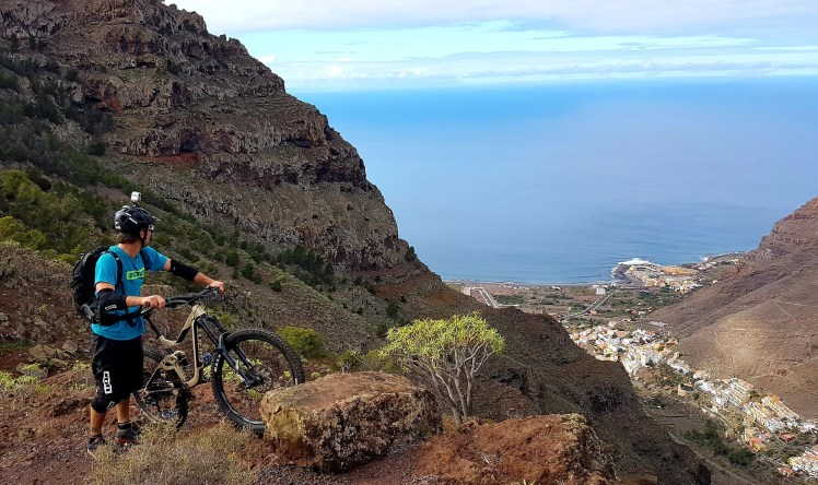Blick aufs Valle Gran Rey - La Gomera – Trails & Hippies