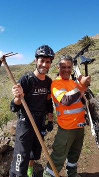 Trailbauer unter sich - La Gomera – Trails & Hippies