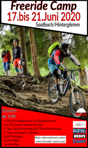 Mountainbike Freeride Camp Saalbach/Hinterglemm