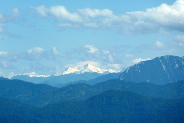 Ausblick vom Zwiesel-Trail zum Großvenediger