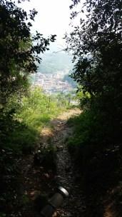 Anaconda Trail mit Aussicht