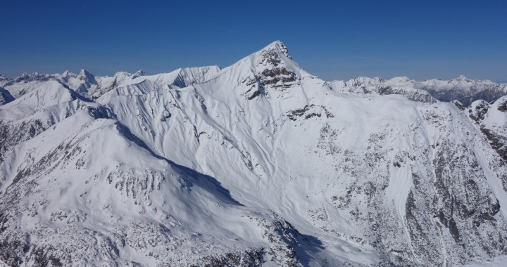 Namloser Wetterspitze, Freeride Skitour Überschreitung