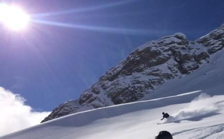 Roter Stein Freeride Skitour