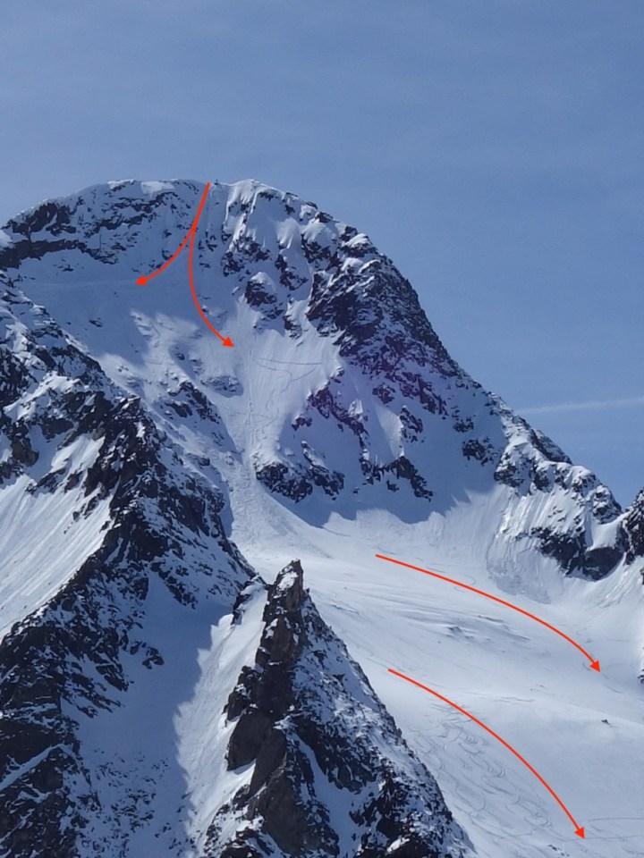 Schaufelspitze N-Face (3.332 m)