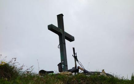 Hardcore: der Gipfelaufbau des Schildenstein