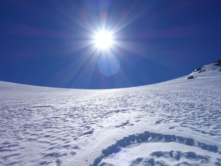 Erleuchtung im Tal des Lichts: perfekter Noppenpowder