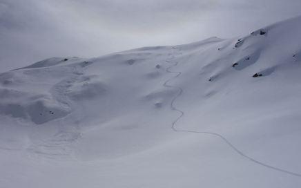 Piz Titschal (2.550 m), freie Gipfelhänge und schöne Waldschneisen