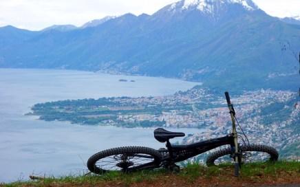 Sassariente, südseitiger Trail im Norden des Lago Maggiore