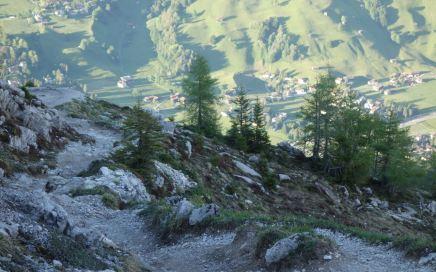 Hammer Trail: breit, flowig, felsdurchsetzt