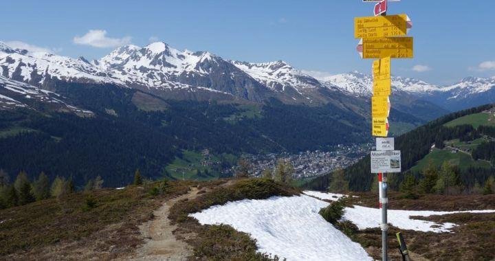 Davos Flowtrails, Rinerhorn zum Saisonbeginn