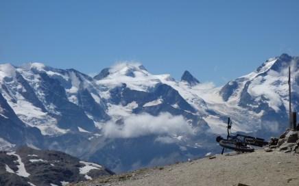 Pontresina Trails, Bellavista am Bernina Massiv