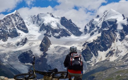 Fuorcla Surlej, Freeride-Trails am Corvatsch, St. Moritz