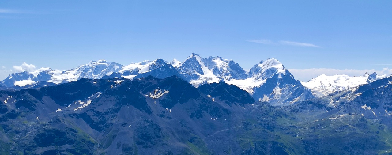 Piz Nair, Bernina Panorama
