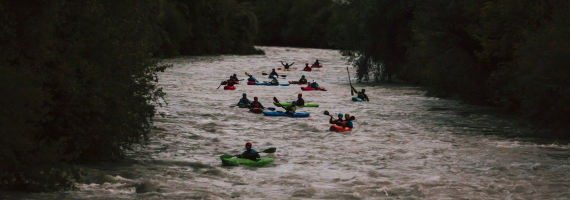Kayaker to Conservationist - pic by Flo Smith