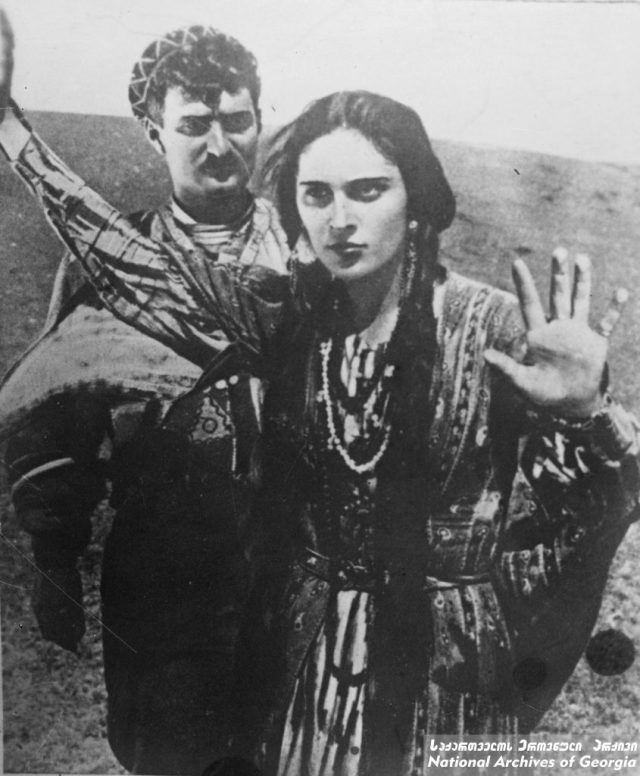 "Film still from ""Eliso"" (Courtesy of National Archives of Georgia)"