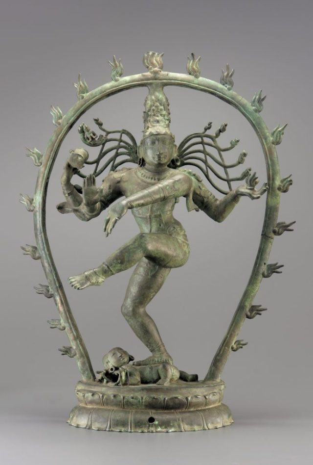 Shiva Nataraja; Tamil, India, Chola dynasty, ca. 900; bronze; Purchase—Margaret and George Haldeman, and Museum funds, F2003.2