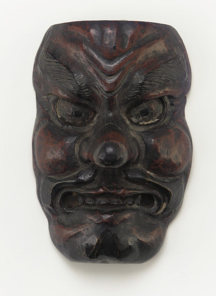 Mask; Japan, Momoyama or Edo period, 17th–18th century; wood, pigment, lacquer; Collected by Seymour J. Janow and gifted in his memory by his family, F2003.5.16