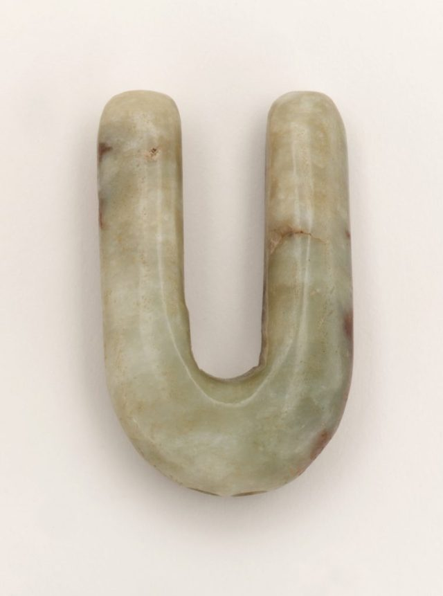 Jade nose plug, China