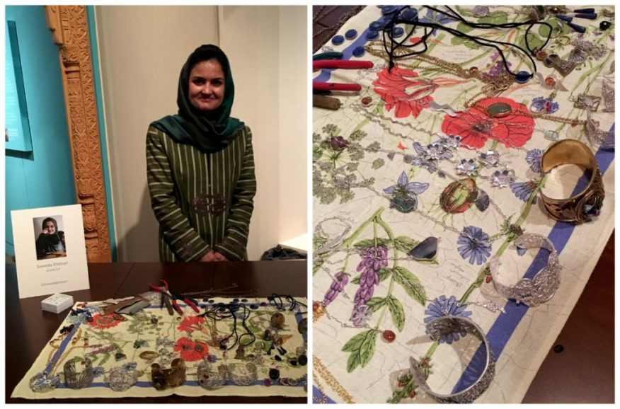 A look at Saeeda Etebari's jewelry designs.