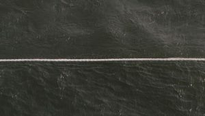 Detail, Still from Sea State: Drift (Rope Sketch 1); Still from Sea State: Drift (Rope Sketch 1); Charles Lim (b. 1973, Singapore); 2012; HD video, 5 min.; Courtesy of the artist