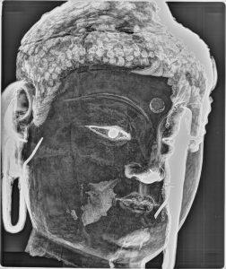 xray image of the bodhisattva head