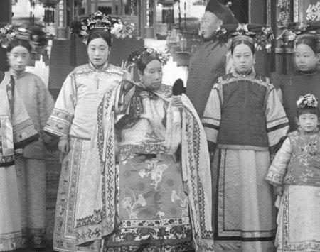 group of women in dress