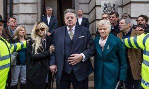 """Highly anticipated NATIONAL TREASURE (C4, UK) starts tonight at 9pm BST"