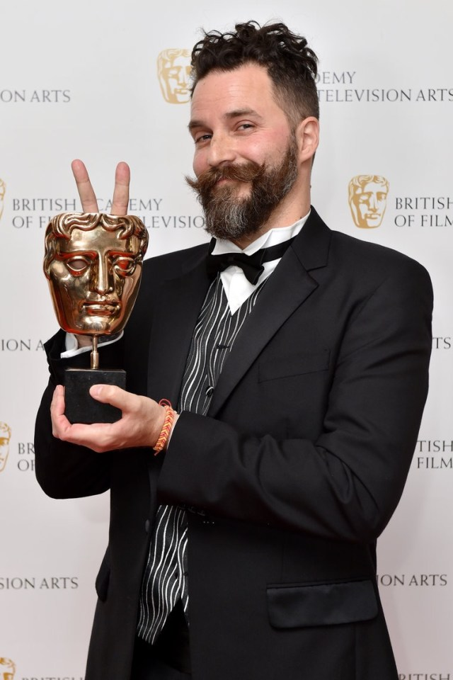 """And the BAFTA goes to: CRISTOBAL TAPIA DE VEER !!"