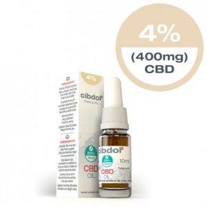 Cibdol CBD olie 4% 10ml 200+