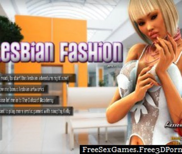 Lesbian Fashion With Sexy Lesbians And Xxx Models