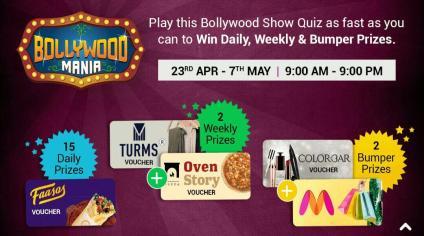 Bollywood Mania Quiz Answers