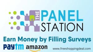 Panel Station Survey Earn Paytm Cash