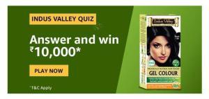 Amazon Indus Valley Quiz Quiz Answers